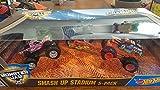 monster jam hot wheels - Hot Wheels Monster Jam Smash Up Stadium 5-pack
