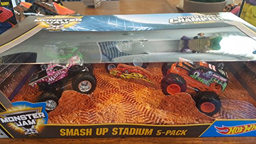 monster jam hot wheels - 8
