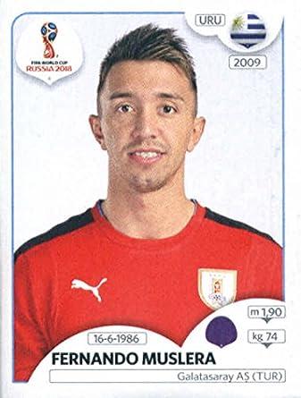 4febf93976d 2018 Panini World Cup Stickers Russia  94 Fernando Muslera Uruguay Soccer  Sticker