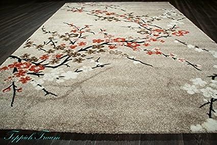 Tappeto designer tappeto moderno tappeto del salotto motivi floreali