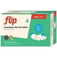 Flip Stay-Dry Inserts - Newborn - 6ct