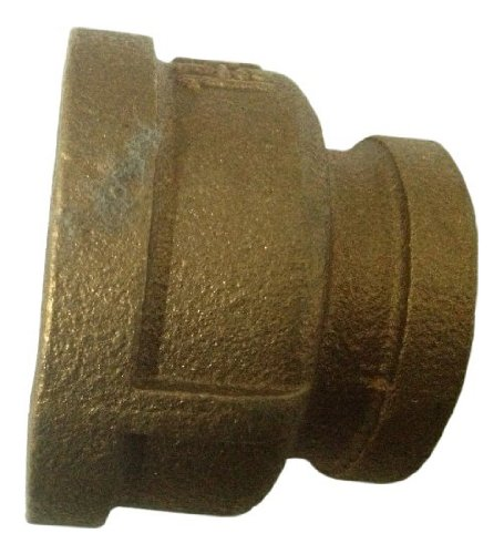 Plumbers Choice 90191 1-1//2-Inch x 1//2-Inch Brass Reducer