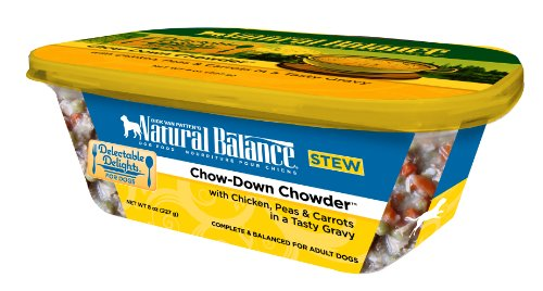 Natural Balance Delectable Delights Chow Down Chowder Dog Stew