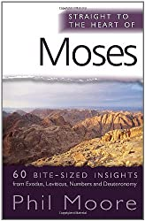 Straight to the Heart of Moses: 60 Bite-sized Insights (The Straight to the Heart Series)