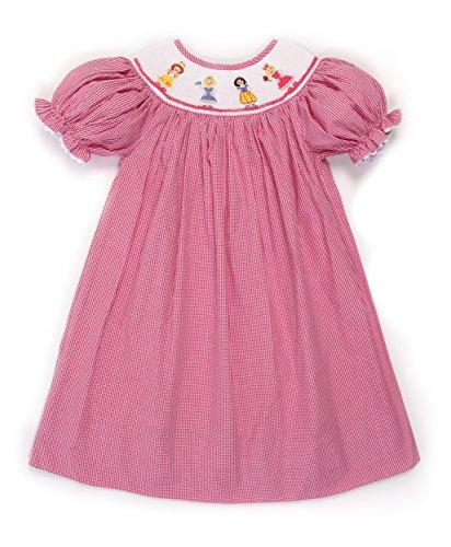 Bishop Infant Dresses (Babeeni Baby Girls Smocked Bishop Dress Disney Princesses (6M))