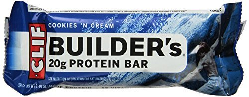 Clif Bar, Builder's Bar, Cookies and Cream, 2.4 ()