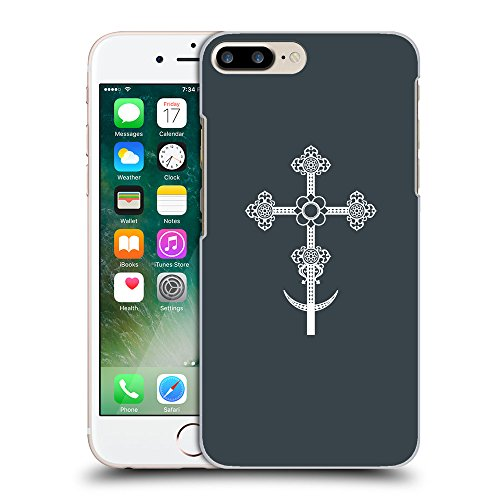 GoGoMobile Coque de Protection TPU Silicone Case pour // Q09290606 Croix chrétienne 39 Arsenic // Apple iPhone 7 PLUS