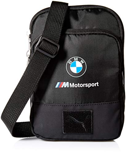 (PUMA Men's BMW Motorsport Small Portable, black, One Size)