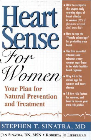 Heartsense for Women: Your Plan for Natural Prevention and Treatment