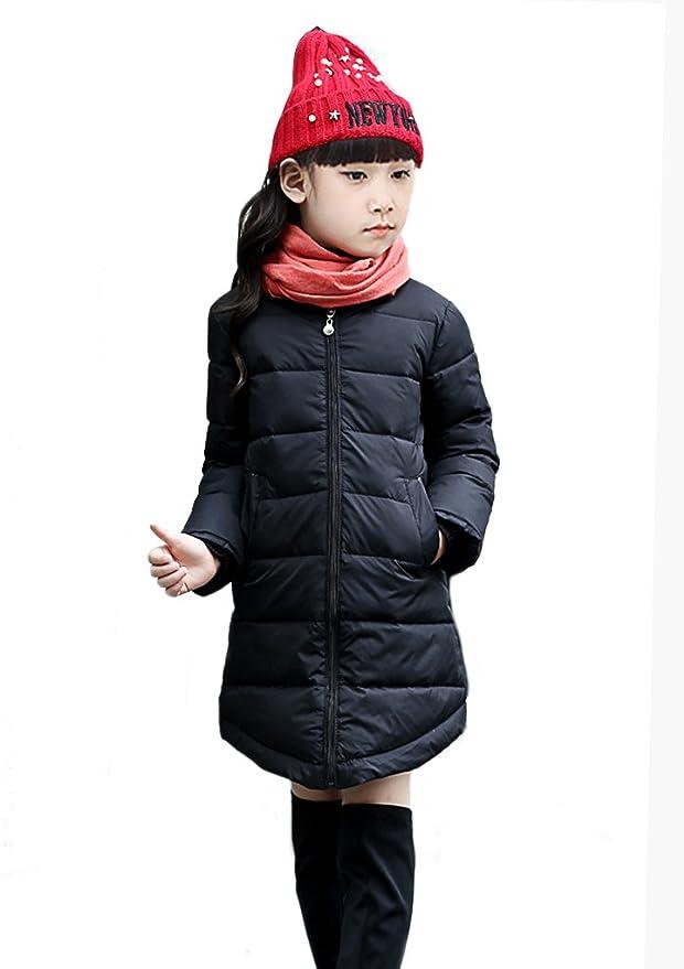 Amazon.com: Little Big Girls Larga Puffer – Chaqueta ...