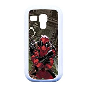 Spawn And Dead pool Flip , Marvel,TPU Phone case for Samsung Galaxy S3 Mini i8190,white