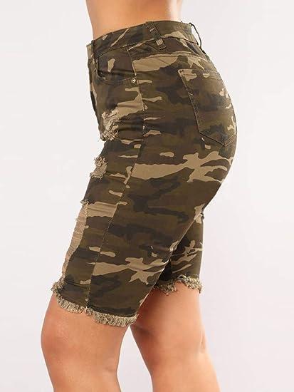 Amazon.com: Meilidress - Bermudas para mujer, diseño de ...