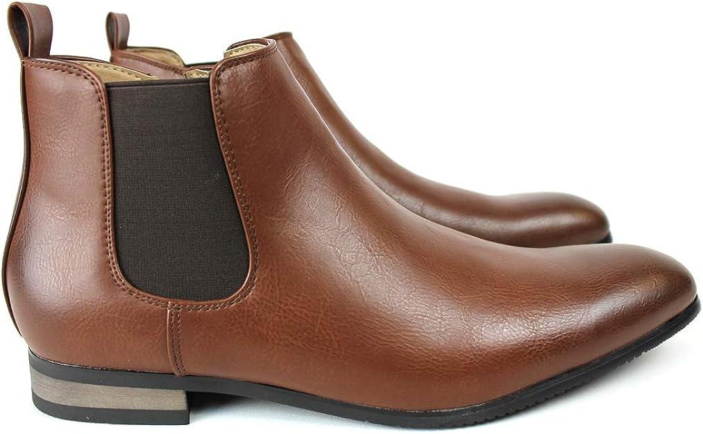 Black Velvet Men/'s Chelsea Boots Ankle Dress Side Zipper Closure ÃZARMAN New