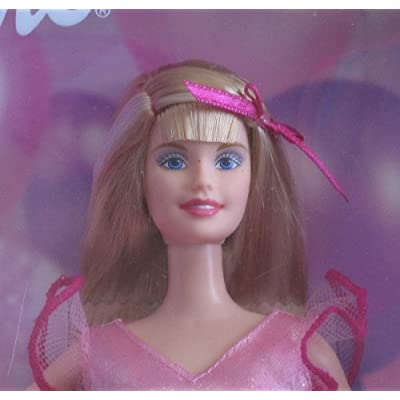 Barbie Happy Birthday Doll w Tiara for You! (2002): Toys & Games