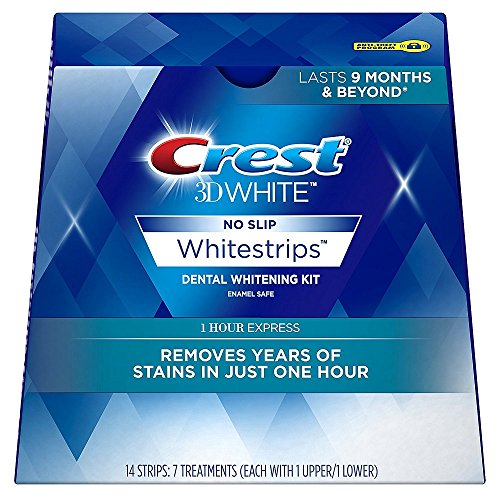 Crest 3D Glamorous Whitestrips and Radiant Mint Toothpaste
