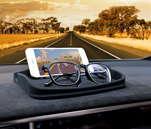 Silicone Universal Fit Soft Flexible Cell Phone Holder, Sun Glasses Stand,GPS Navigation Holder,Glasses Holder - Phone Holder Sunglasses