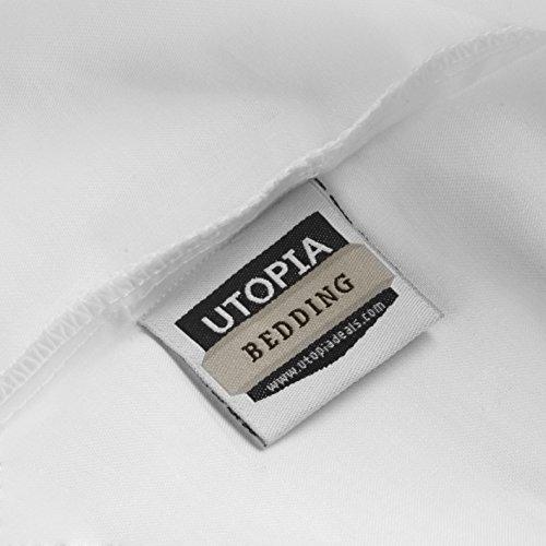 photo Wallpaper of Utopia Bedding-Utopia Bedding Cotton Pillow Case (Pack-White
