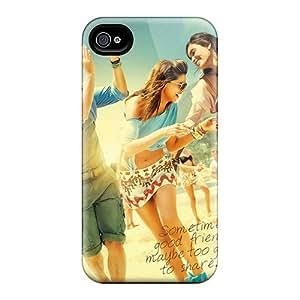 Excellent Design Cocktail Movie Phone Case For Iphone 4/4s Premium Tpu Case