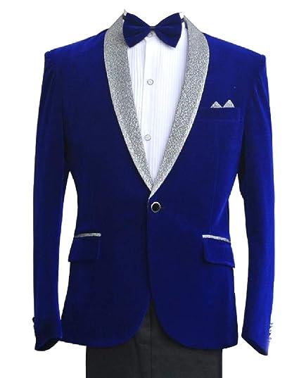 0ed5dcbdf690 Sankt Mens Slim Cut Costume Pocket Trim Dinner Jacket & Pants Set Sapphire  Blue XS: Amazon.co.uk: Clothing
