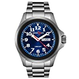 (US) Armourlite AL813 Officer Series Stainless Steel Blue Dial Watch