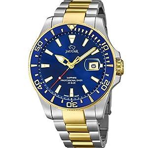 Reloj JAGUAR Executive Hombre J862/1-2 / Reloj cronógrafo Suizo con Brazalete de Acero 9