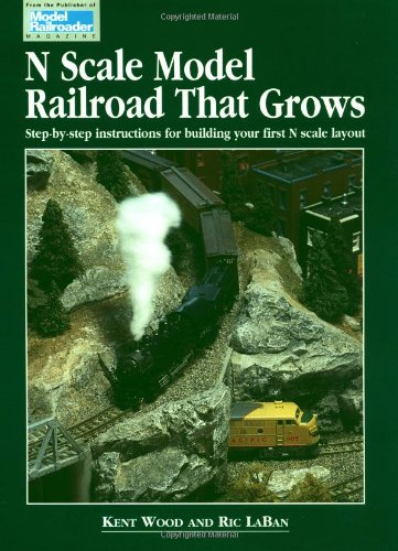 - N Scale Model Railroad That Grows - Step By Step Instructions for Bulding Your First N Scale Layout