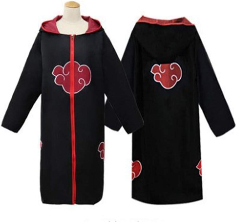ZGCP Disfraz de Halloween Disfraz de anime capa roja nube túnica ...