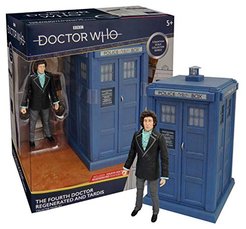 (Doctor Who The Fourth Doctor Regenerated and Tardis Collector Figure)