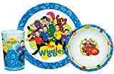 : The WIGGLES 3 Piece Dinnerware Set/ Plate Bowl Tumbler