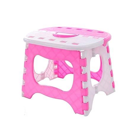 Amazon.com: Taburete plegable portátil para niños para baño ...