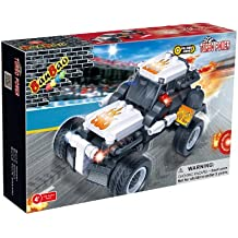 BanBao Dragster Toy Building Set, 128-Piece