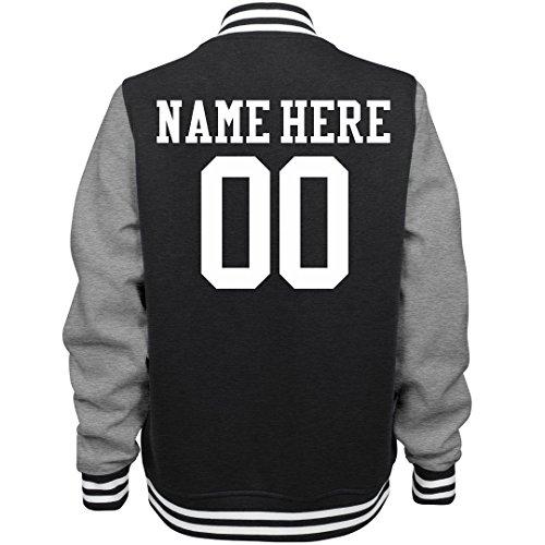 Trendy Custom Sports Fan: Ladies Fleece Letterman Varsity Jacket