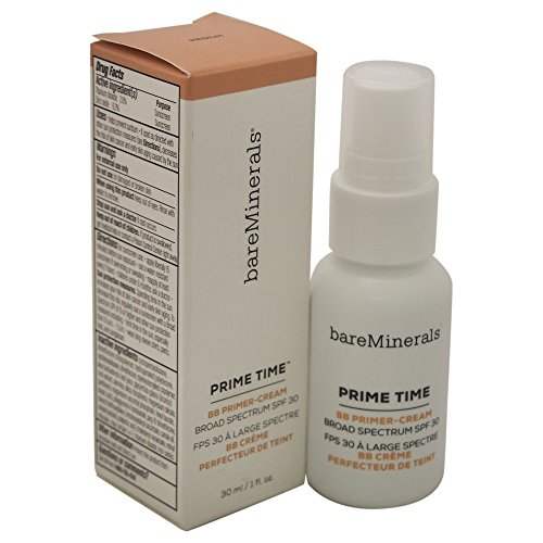 BareMinerals Prime Time BB Primer Cream SPF 30, Medium, 1 Fluid Ounce