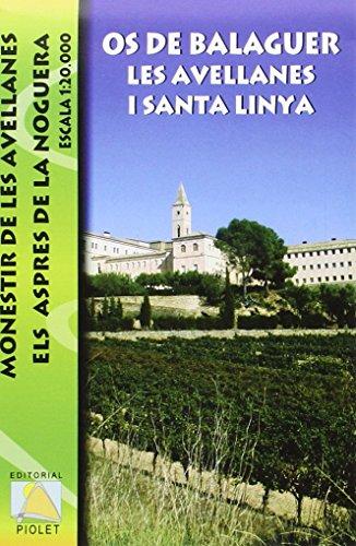 Descargar Libro Os De Balaguer. Les Avellanes I Santa Linya, Mapa Excursionista. Escala 1:20.000. Editorial Piolet. Vv.aa.
