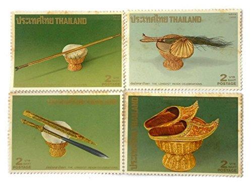 [Longest Reign Celebration King Rama IX Apperel Costume Stamp Postage] (Postage Stamp Costume)