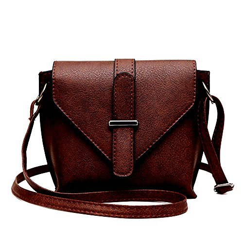 2018 el nuevo PU dumpling Satchel, el minimalista Ladies Shoulder Bag,Dark Brown Dark Brown
