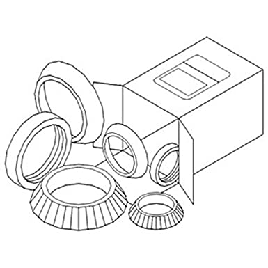 Amazon Com Wbkmf5 Wheel Bearing Kit Made To Fit Massey Ferguson