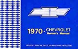 1970 Chevrolet owner's manual
