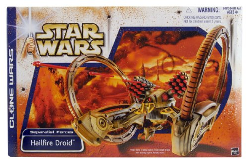 Star Wars Separatist Forces: Hailfire Droid (Hailfire Star Wars Droid Lego)