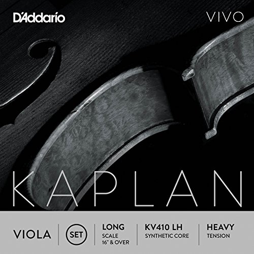 D'Addario KV410 LH Kaplan Vivo Viola String Set D' Addario