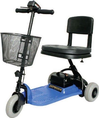 Shoprider SL73-BLUE-Echo 3 Wheel Scooter Blue by Shoprider