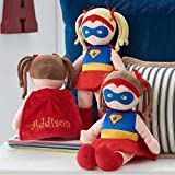 Personalized Dibsies Super Hero Doll - 14 Inch (Brunette)