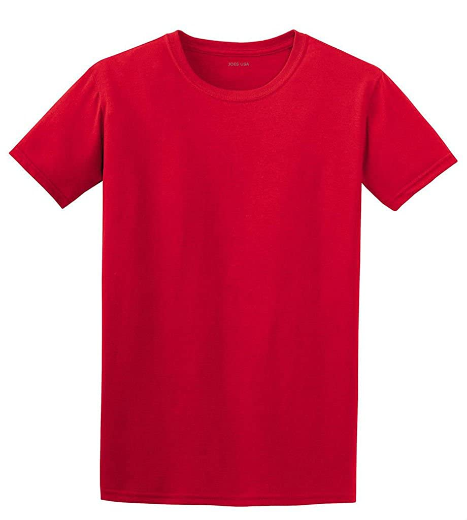 0076fee8d97 Joe s USA Lightweight Soft Cotton T-Shirts in 30 Colors at Amazon Men s  Clothing store