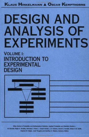 Design and Analysis of Experiments, Introduction to Experimental Design (Wiley Series in Probability and Statistics) (Vo