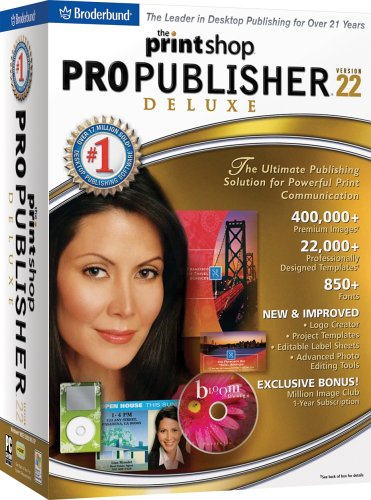 The Print Shop Pro Publisher 22 Deluxe [DVD] [OLD VERSION]