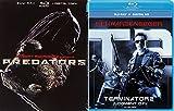 Predators & Terminator 2 T2 Sci-Fi 2-Blu-Ray Bundle Set