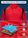 ZITY Micropique Sport Wick Polo Cool Quick-Dry