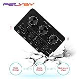 FELYBY Multifunctional Sound Card Portable Live