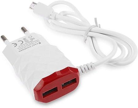 Cable Cargador de Enchufe para LG K3 Smartphone Android 2 ...