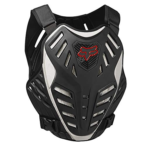 - FOX RACING 2018 TITAN RACE SUBFRAME CE Black/Silver LARGE/X-LARGE MX OFFROAD ADULT MEN'S PROTECTIVE GEAR